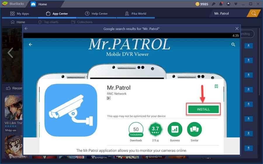 Mr Patrol on BlueStacks