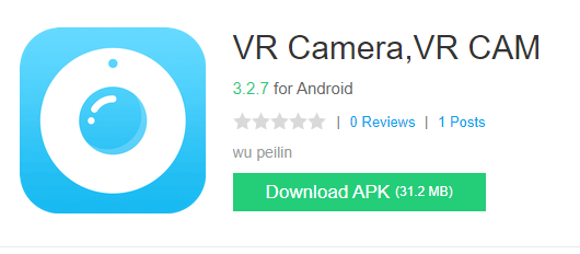 VR Camera App for Windows