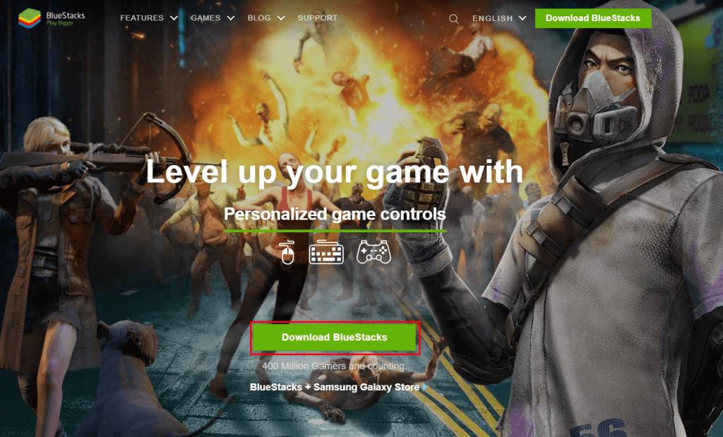 Click Download BlueStacks - Solo VPN for PC