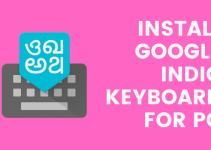 Google Indic Keyboard for PC- Windows 10, 8, 7 / Mac / Laptop Free Download