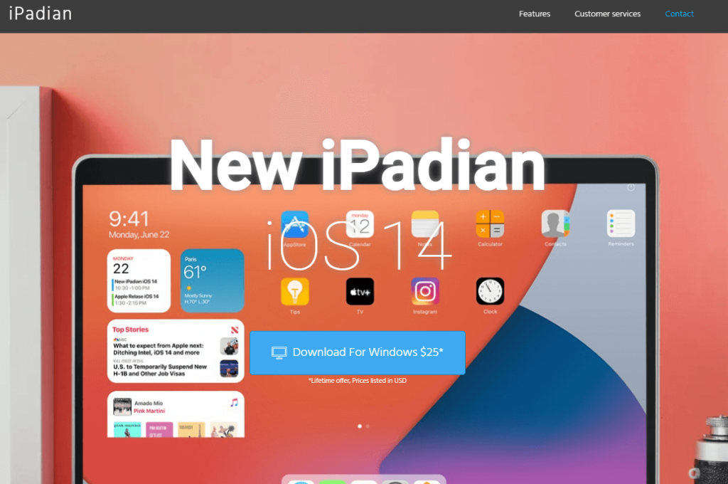 Download iPadian for Windows - MPL for PC