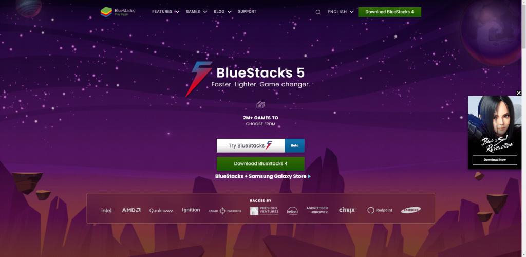 Download BlueStacks - Google Play Store