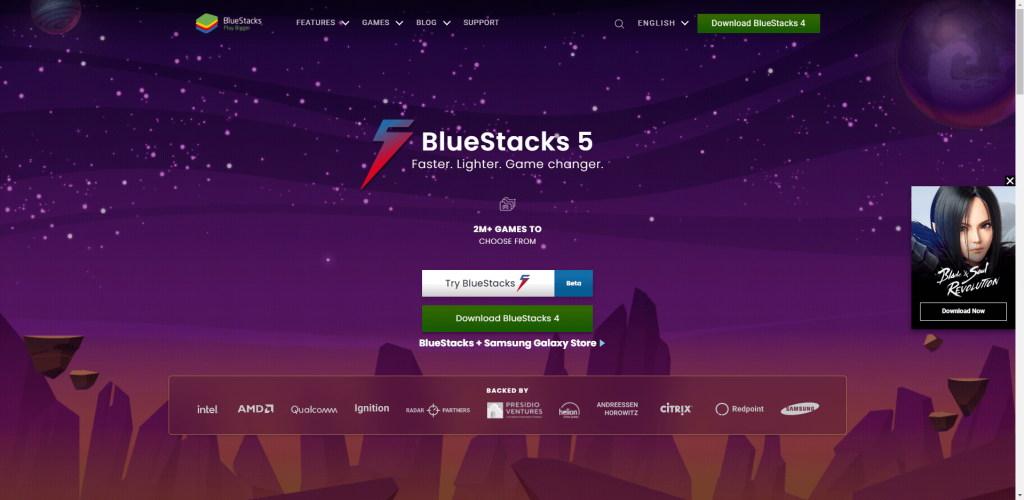 Download BlueStacks - Starry VPN for PC