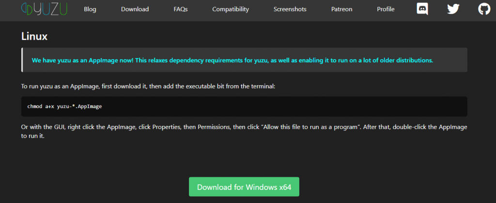 Select Download for Windows