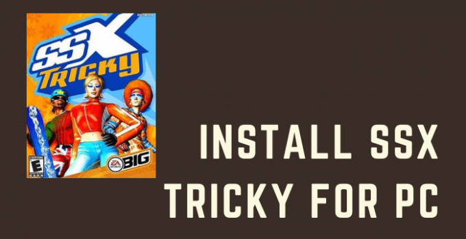 SSX Tricky for PC – Windows (7, 8, 10) and Mac Free Download