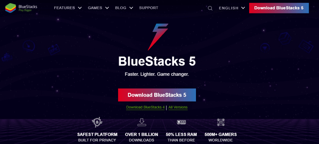 install Blue Stacks